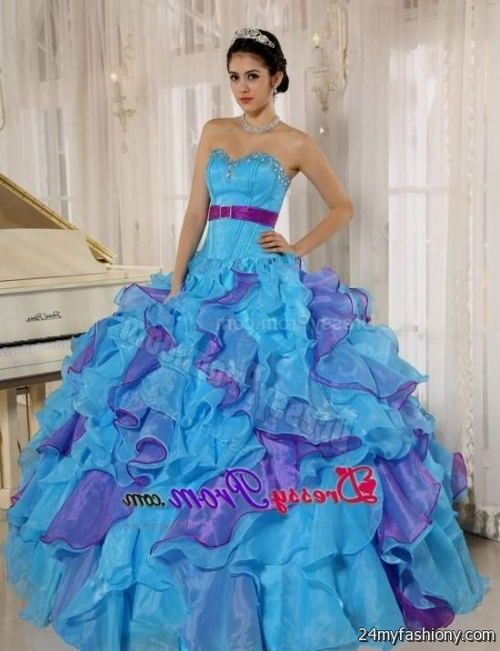 purple and teal quinceanera dresses 20162017 b2b fashion