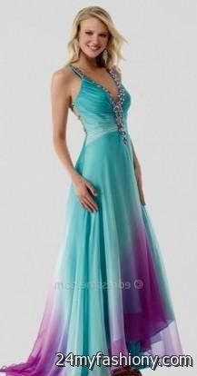 purple and teal wedding dresses | Gommap Blog