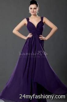 purple bridesmaid dresses with straps 2016-2017 » B2B Fashion