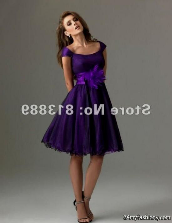 Purple cocktail dresses with sleeves – Dress online uk
