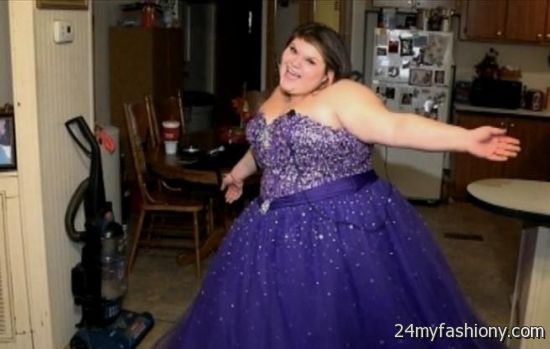 purple plus size prom dresses looks | B2B Fashion