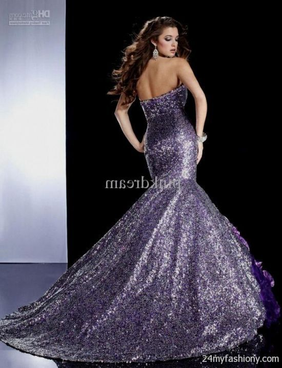 purple sequin prom dress wwwimgkidcom the image kid