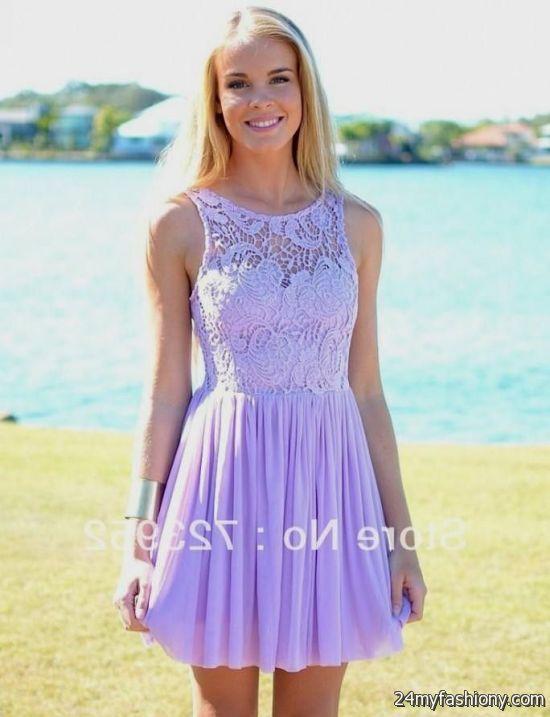 purple summer dresses 2016-2017 » B2B Fashion