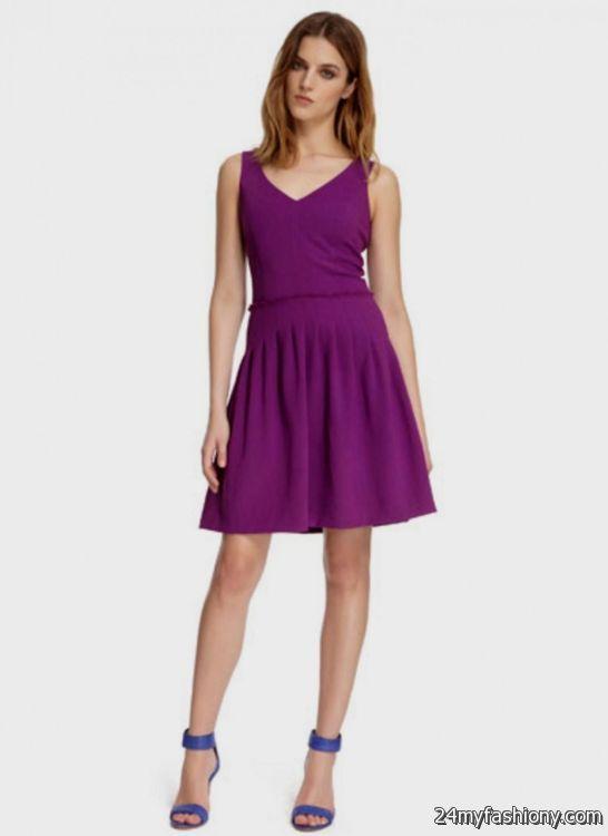 purple summer dresses for juniors 2016-2017 » B2B Fashion