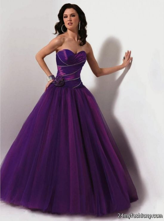 Purple Wedding Dresses For  : Purple wedding dress  ? b fashion