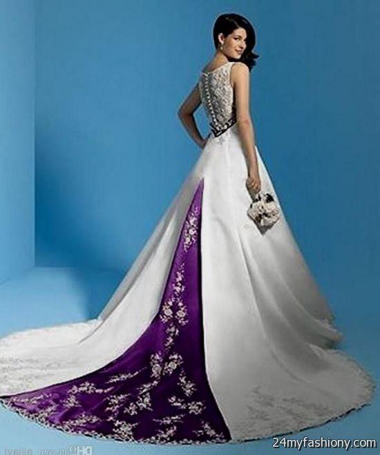 purple wedding dresses 2016-2017 | B2B Fashion