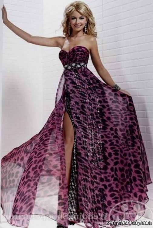 Zebra Prom Dresses Plus Size Tops