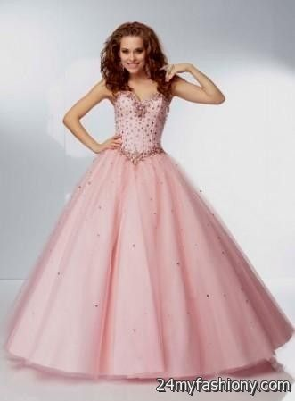 quinceanera dresses pink and gold 2016-2017 » B2B Fashion