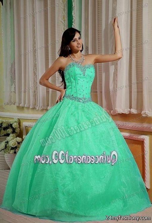 quinceanera dresses aquamarine 2016-2017 » B2B Fashion