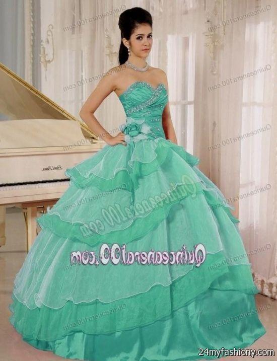 7170ca517f quinceanera dresses aquamarine looks