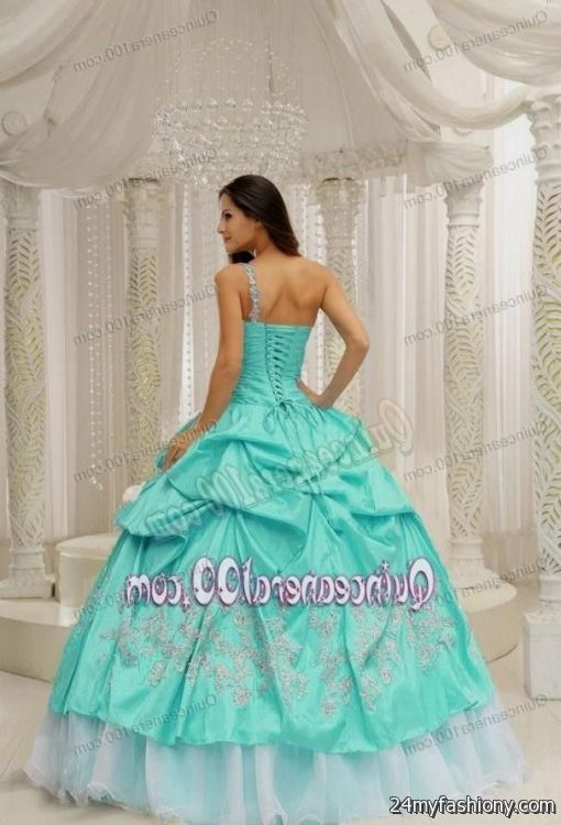 db7a28834d You can share these quinceanera dresses aquamarine on Facebook