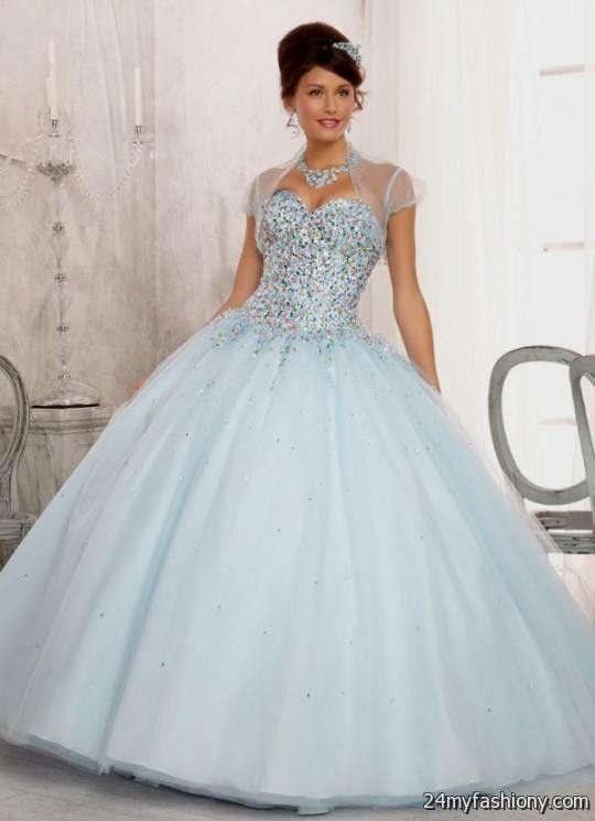 Baby Blue And White Prom Dresses For 2017 Boutique Prom