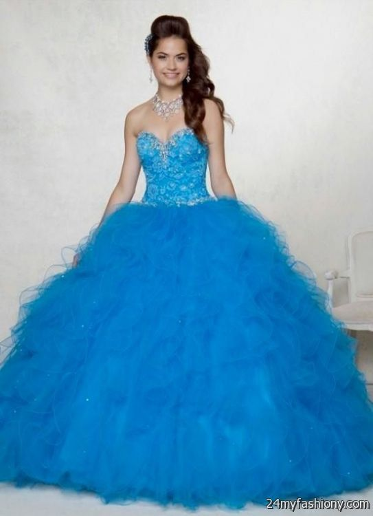 quinceanera dresses blue and purple puffy 2016-2017 » B2B Fashion