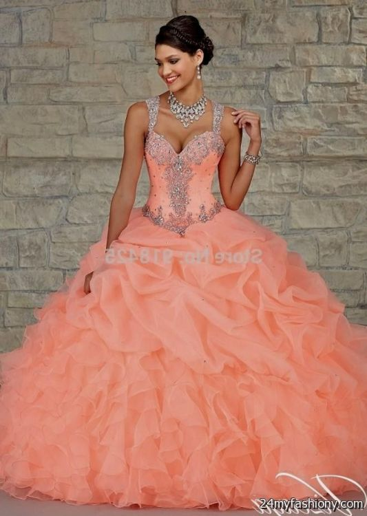 04310415080 You can share these quinceanera dresses color salmon on Facebook