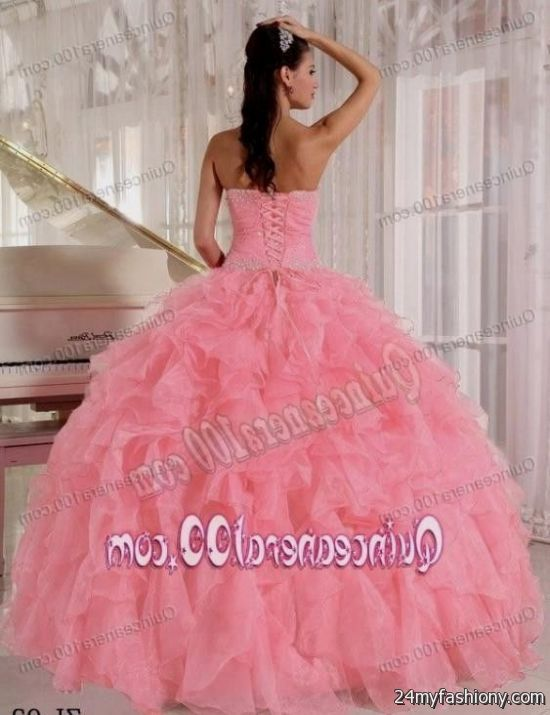 7458b47edbf You can share these quinceanera dresses light pink and gold on Facebook