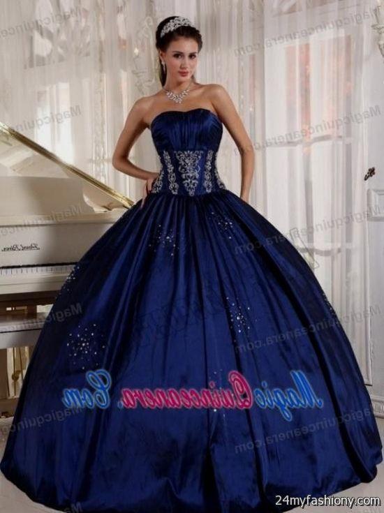 Quinceanera Dresses Navy Blue Looks B2b Fashion