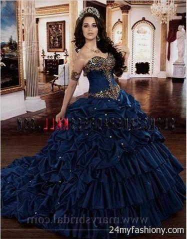 7867ecc18f quinceanera dresses navy blue looks