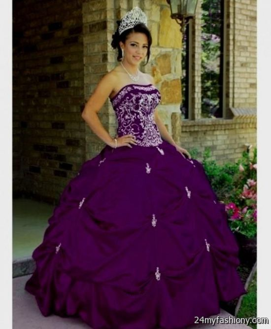 quinceanera dresses royal purple 2016-2017 | B2B Fashion