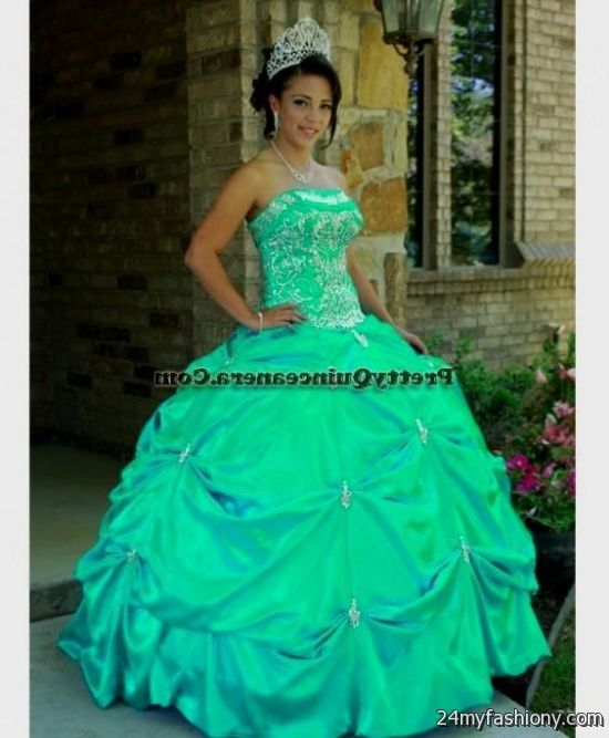 284c5c72ca You can share these quinceanera dresses turquoise and silver on Facebook