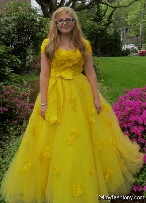 Dresses quinceanera yellow belle forecast dress for everyday in 2019