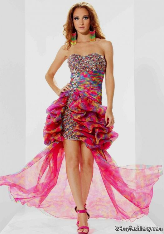 rainbow prom dress 2016-2017 | B2B Fashion