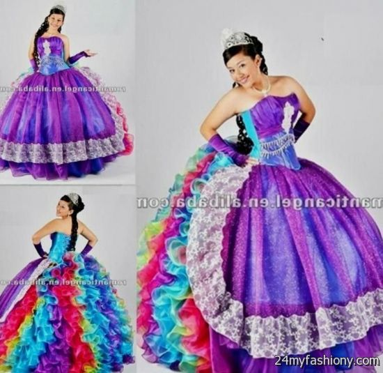 rainbow prom dress 2016-2017 » B2B Fashion