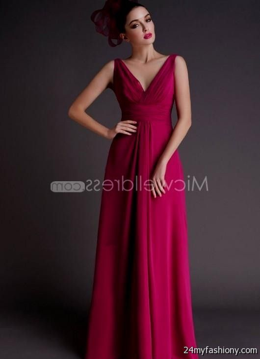 raspberry bridesmaid dresses 2016-2017 | B2B Fashion