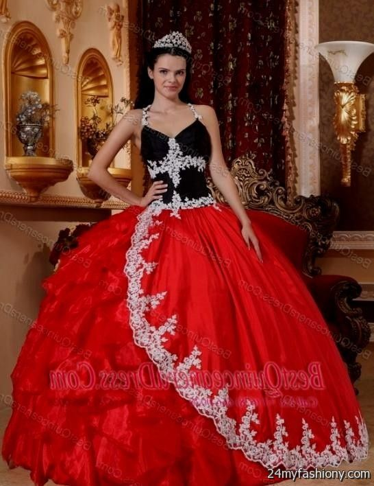 red and black ball gowns 2016-2017 » B2B Fashion