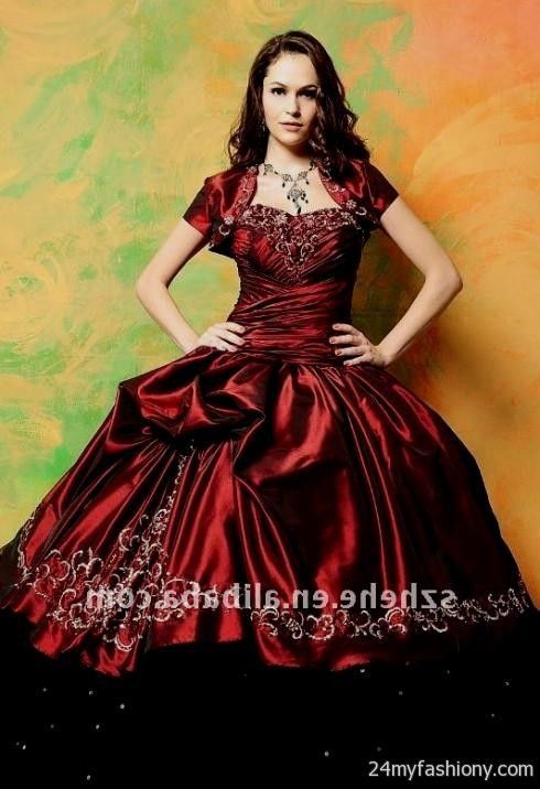 red and black ball gowns 2016-2017 | B2B Fashion