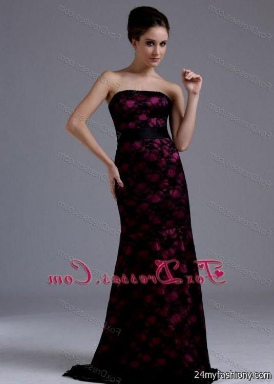 red and black lace prom dress 2016-2017 » B2B Fashion