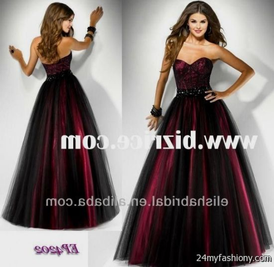 Collection Black Red Prom Dress Pictures - Asatan