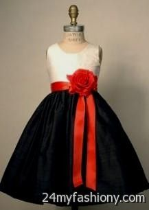 Red black and white flower girl dresses 2016 2017 b2b fashion affordable junior prom graduation plus size formal dresses you can share these red black and white flower girl mightylinksfo