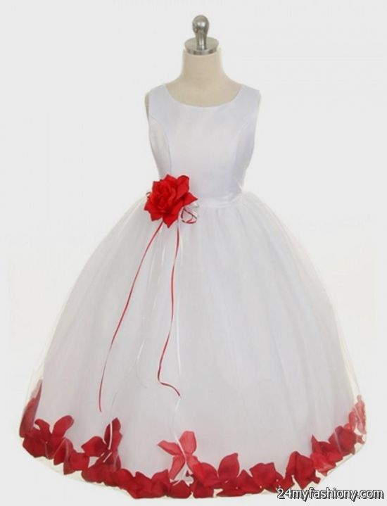 red black and white flower girl dresses 2016-2017 | B2B ...