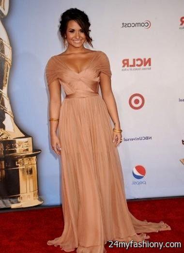 Red Carpet Dresses Demi Lovato 2016 2017 B2b Fashion