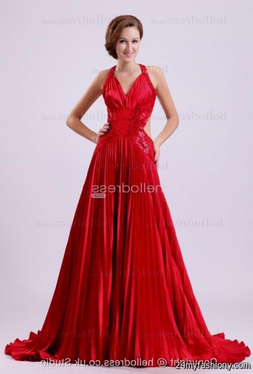 Red Classy Prom Dresses