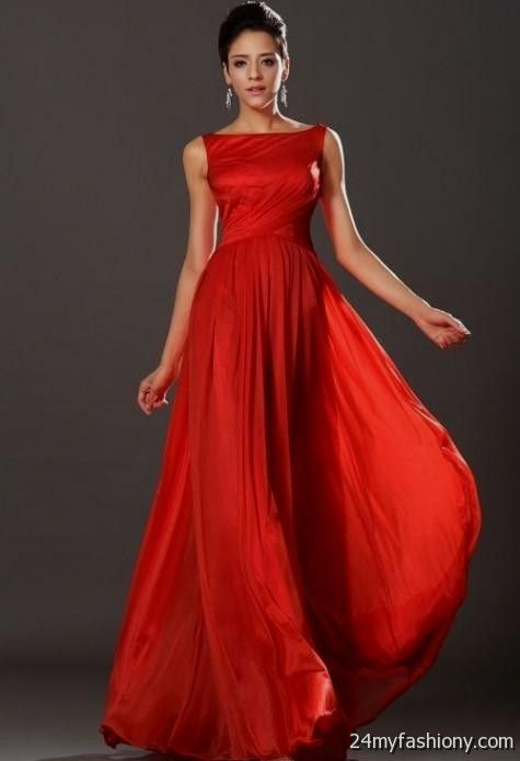 Red Formal Gowns for Juniors