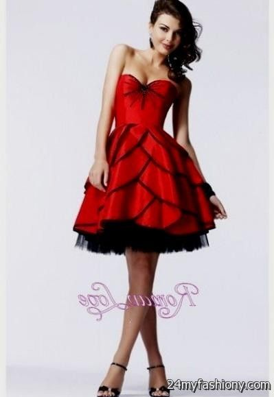 red knee length prom dresses 2016-2017 » B2B Fashion
