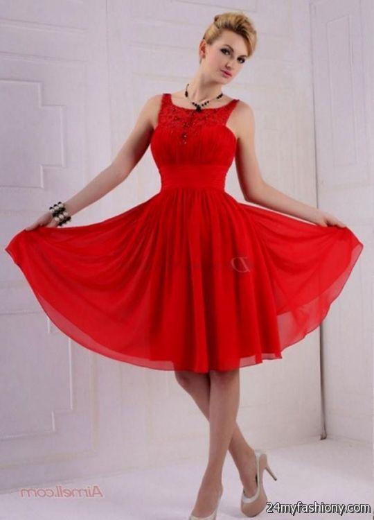 Prom Dresses Knee Length 2018 105