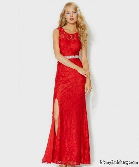 Macy's Red Prom Dress