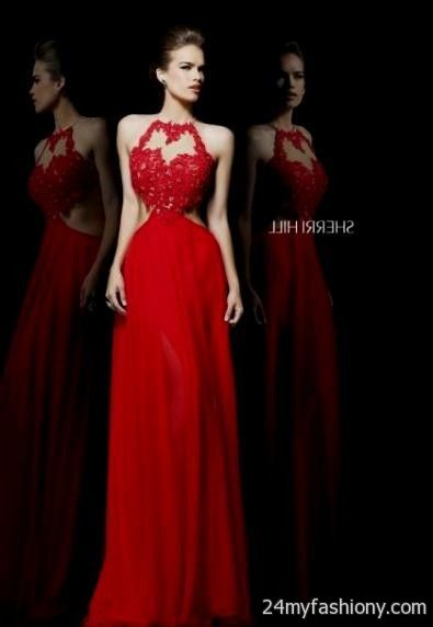 Red lace prom dresses tumblr