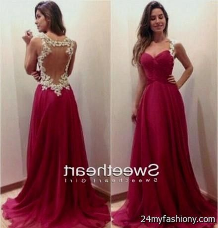 red lace prom dress tumblr 2016-2017 | B2B Fashion