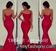 red lace prom dresses tumblr 2016-2017 » B2B Fashion