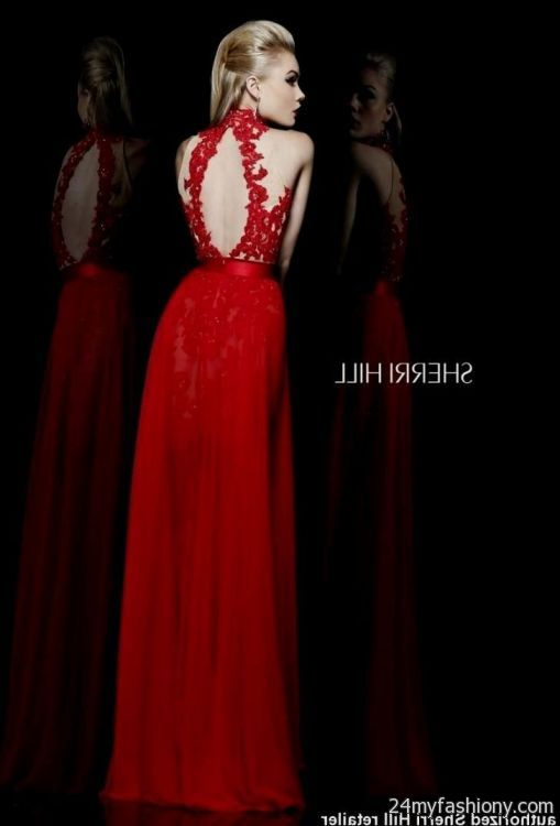 Sherri Hill Red Prom Dresses