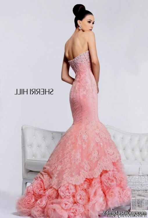 Sherri Hill Pink Prom Dress