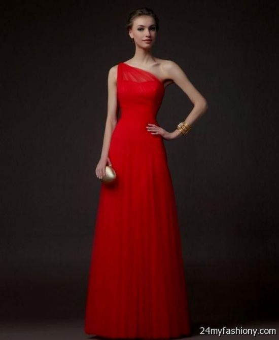 c74b15f7390 Customize your dress and stand out from the crowd. Look your best in these  sexy prom dresses! Pin it. Like! You can share these red one shoulder  bridesmaid ...
