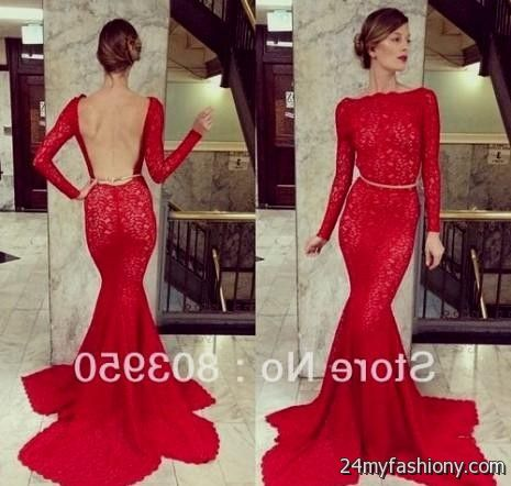 Red Long Open Back Prom Dresses - Boutique Prom Dresses