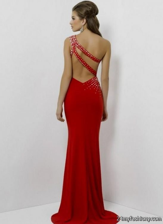 red open back prom dresses 2016-2017 » B2B Fashion