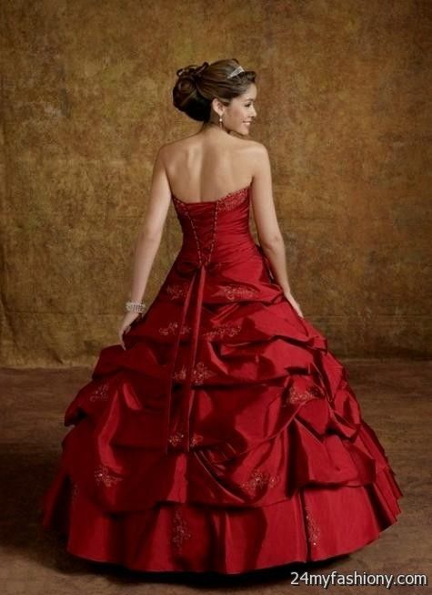 red princess ball gowns 2016-2017   B2B Fashion