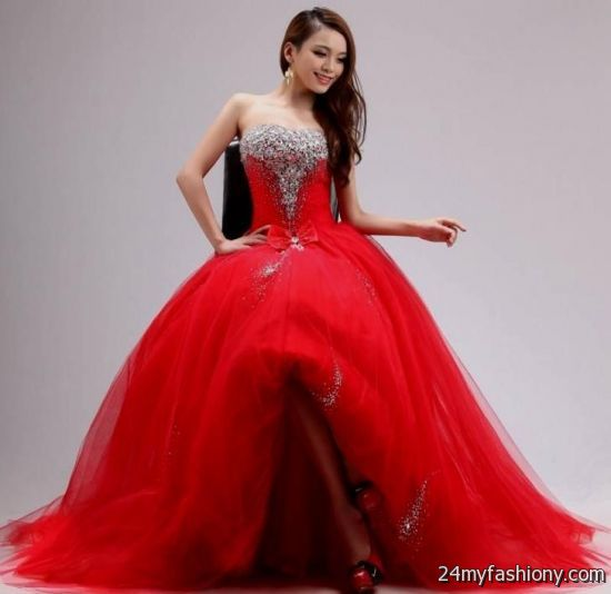 Red Princess Dress 2016 2017 B2b Fashion