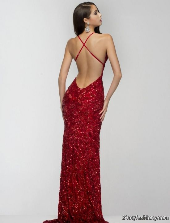 red prom dress with sequins 2016-2017 » B2B Fashion